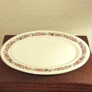 Chateau China Oval Serving Platter CHU40